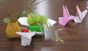 季節を楽しむ折り紙