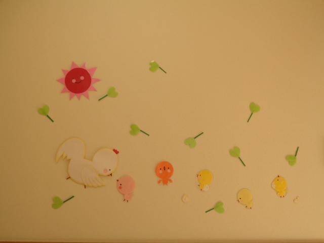 授乳室壁面